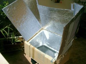 Mi horno solar